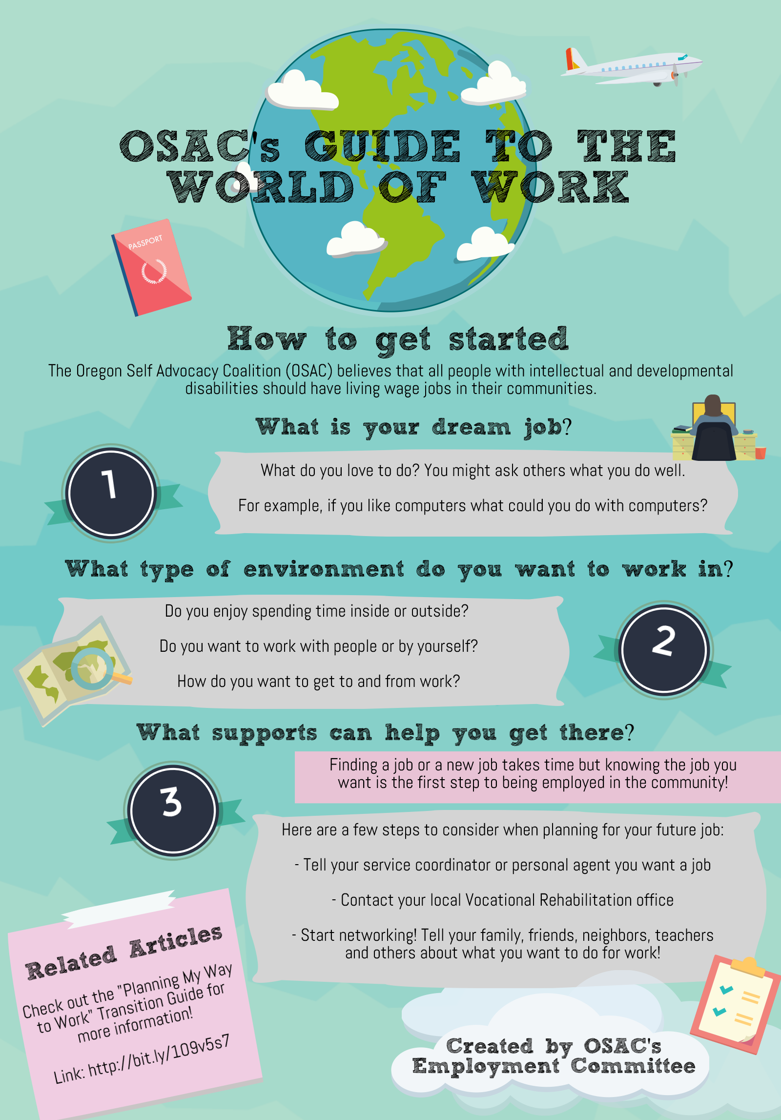 OSAC Guide to Work